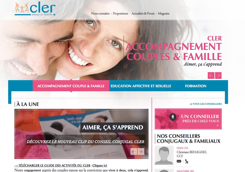 site internet du cler
